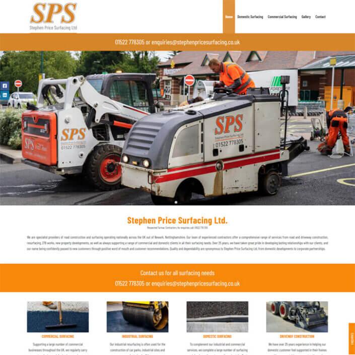 Stephen Price Surfacing